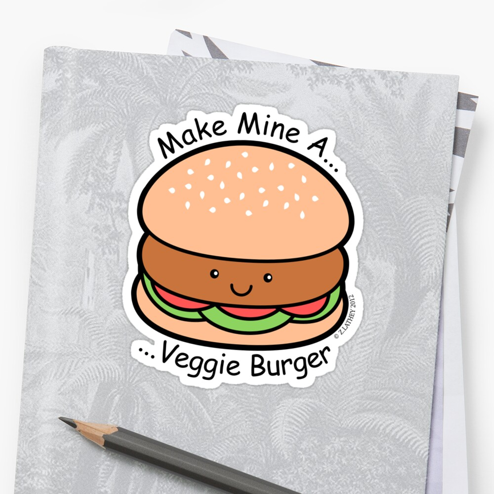 Make Mine Veggie Burger by zoel
