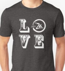 Love 'Za - Rosewood Unisex T-Shirt