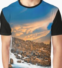 Flying Axe Falls Graphic T-Shirt