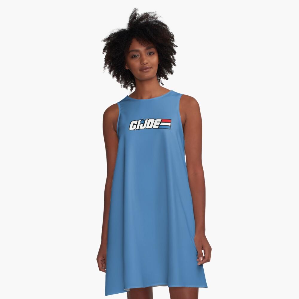 GI Joe Classic logo Vestido acampanado
