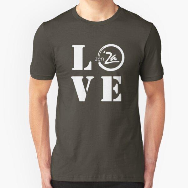 Love 'Za - Stencil Slim Fit T-Shirt
