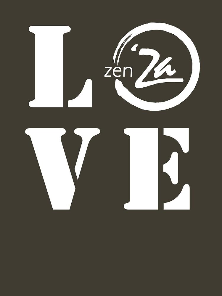 Love 'Za - Stencil by zenZaPizzeria