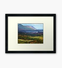 Sunrise Valley, Cape Breton Island Framed Print