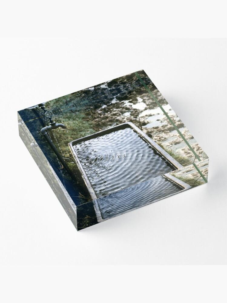 Alternate view of Tap Acrylic Block