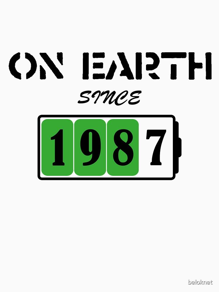 On Earth Since 1987 by beloknet