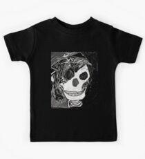 Goth skull Original art Kids Tee
