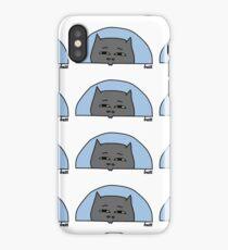 BATT Peek Blue Chest iPhone Case/Skin