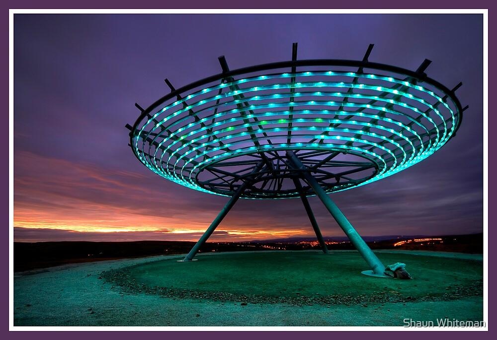 Halo Panopticon looking towards Pendle by Shaun Whiteman