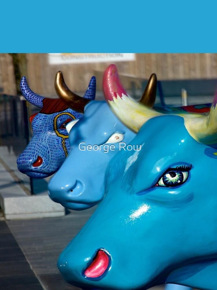 Three Cows on Parade, Ebrington Sq, Derry by VeryIreland