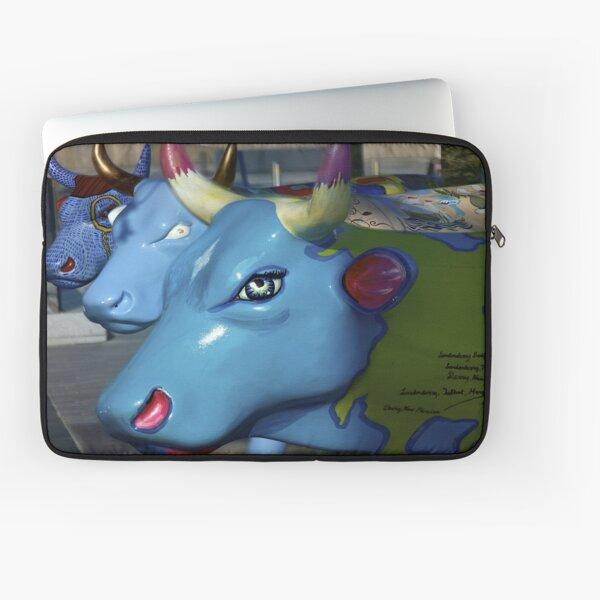 Three Cows on Parade, Ebrington Sq, Derry Laptop Sleeve
