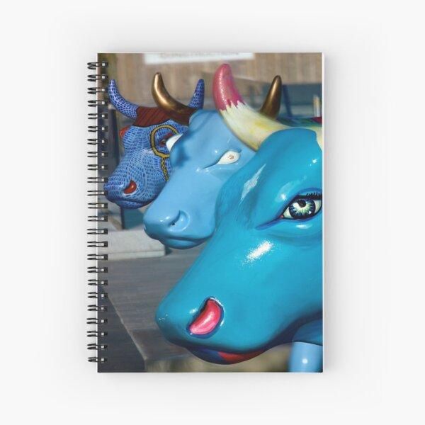 Three Cows on Parade, Ebrington Sq, Derry Spiral Notebook
