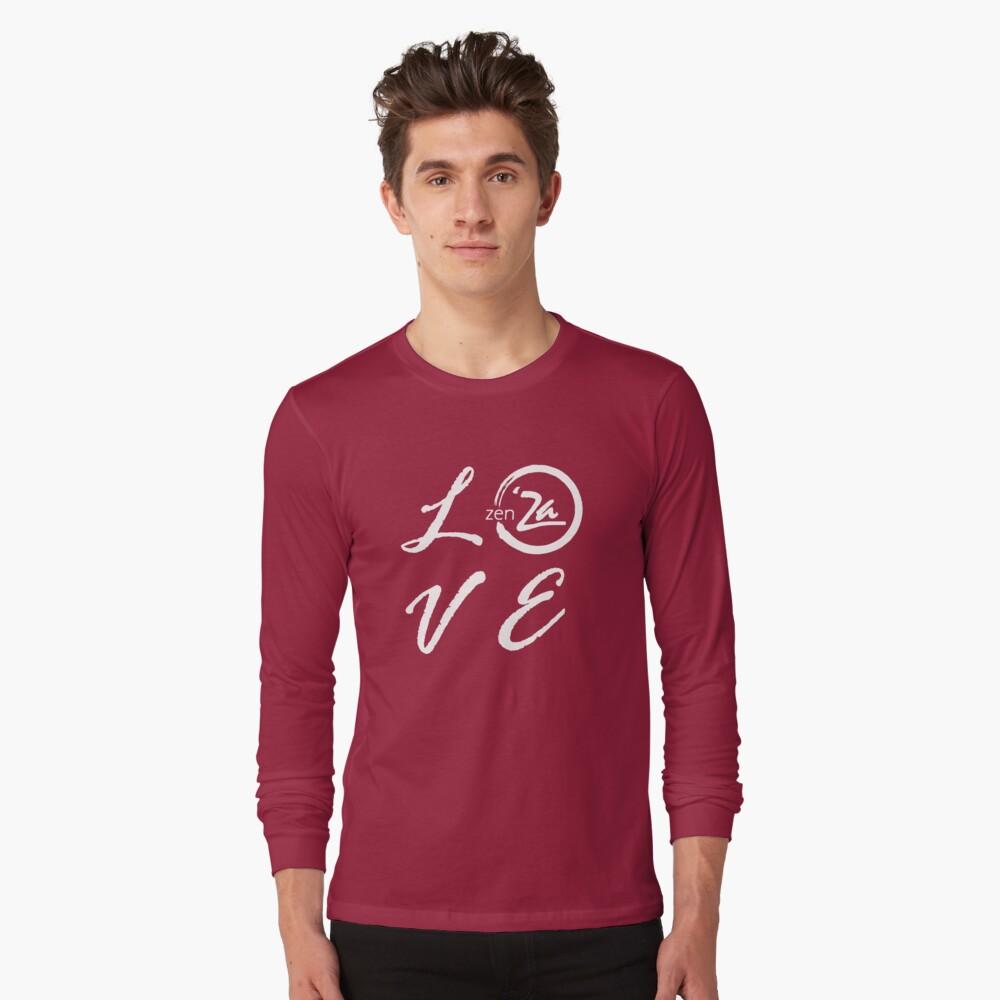 Love 'Za - Italic Long Sleeve T-Shirt