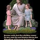 Jesus Little Children by Walter Colvin