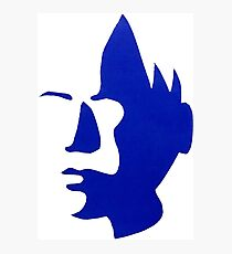 Screen Print Face Silhouette Photographic Print