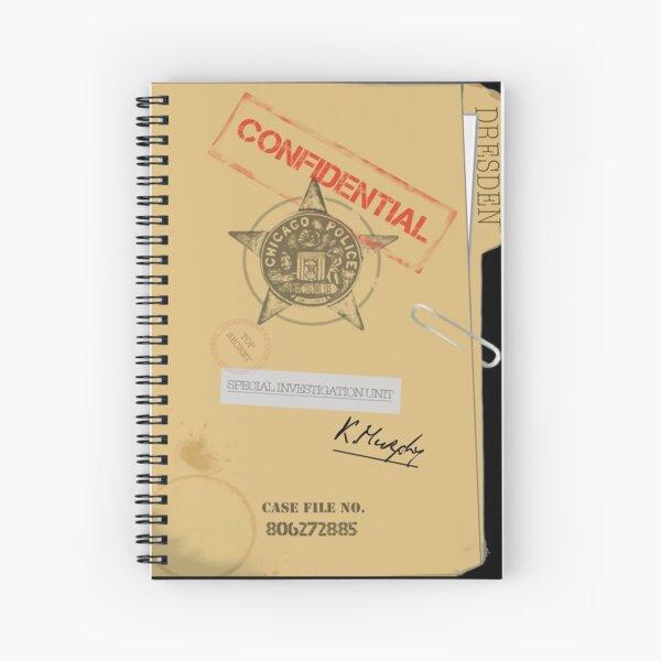 Dresden File Spiral Notebook