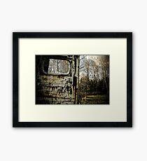 Door to the Outdoor Framed Print