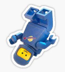 Lego Spaceman Sticker
