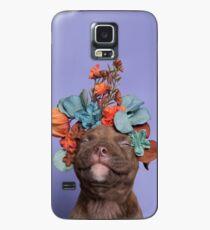 SweetPea, Flower Power Hülle & Klebefolie für Samsung Galaxy