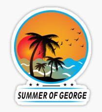 It's the Summer of George Shirt Shirt Tee Sticker