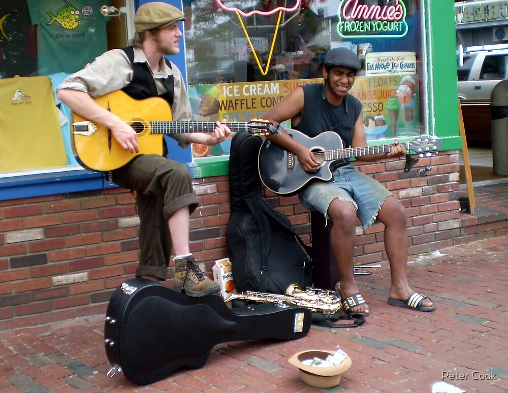 street music by Peter Cook