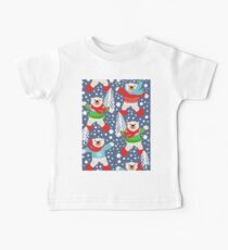 Party like a Polar Bear Dancing in the Snow, playing snowballs, Kids Clothes