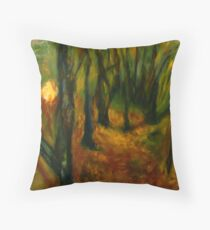 Deep Forest Throw Pillow