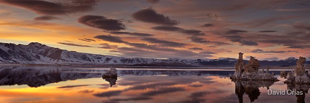 Mono Lake Panorama by David Orias