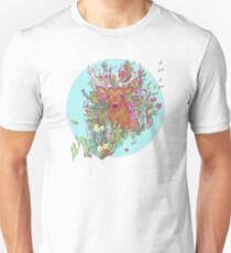 Stag of the Colorful Forest T-Shirt