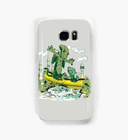 DAGONIN AND CTHULOBBES Samsung Galaxy Case/Skin
