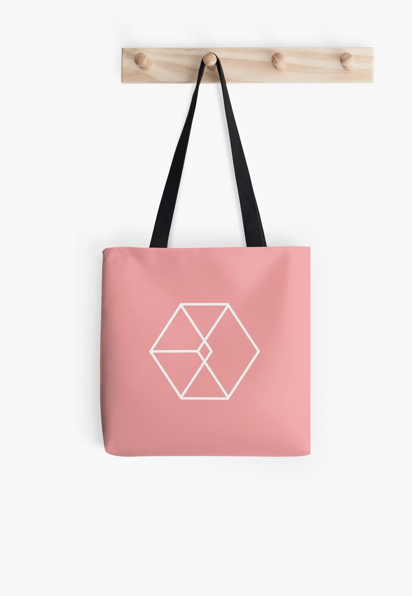 EXO Exodus logo pink version by oricca