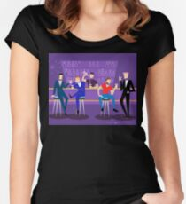 1960s Retro Gay Bar  Women's Fitted Scoop T-Shirt