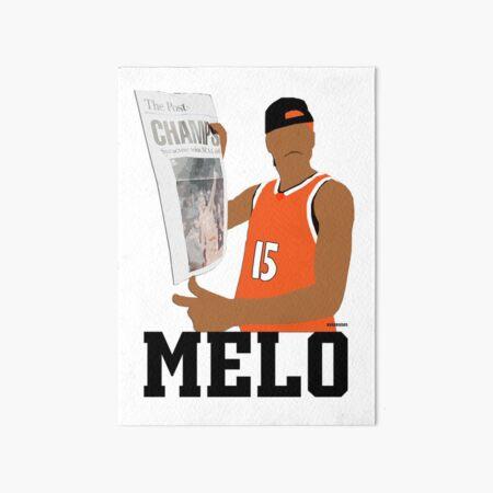 Carmelo Anthony Syracuse Art Board Print