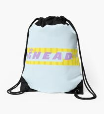 Hey Bighead Drawstring Bag