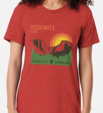Yosemite National Park Vintage T-Shirt