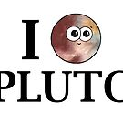 I Heart Pluto by Adrienne Body