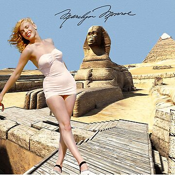 Marilyn and the Sphinx by Dulcina