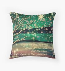 Love is the Answer Throw Pillow