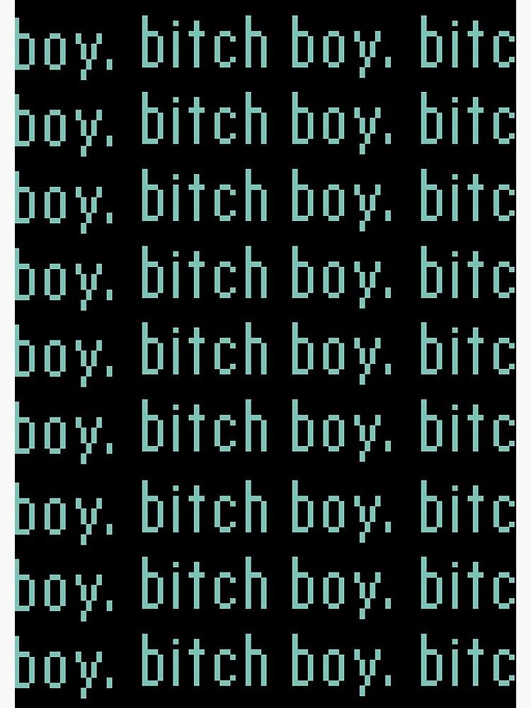 boy bitch