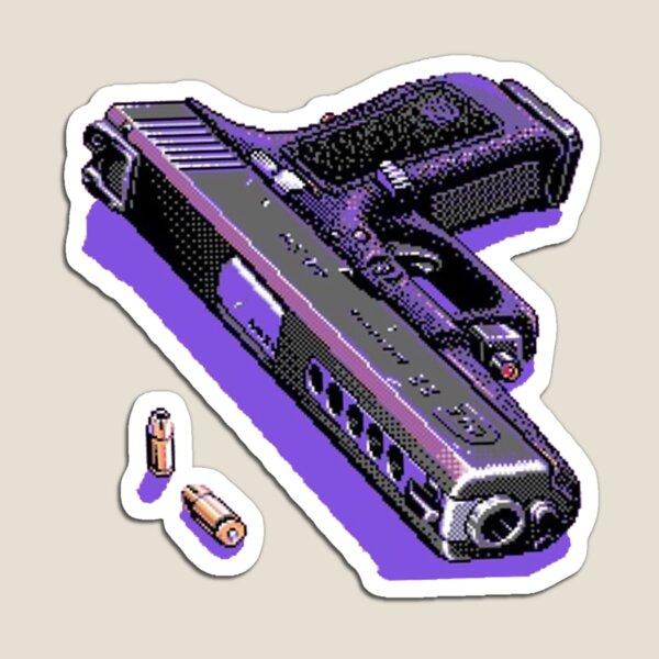 Vaporwave  Pixel loadout Magnet