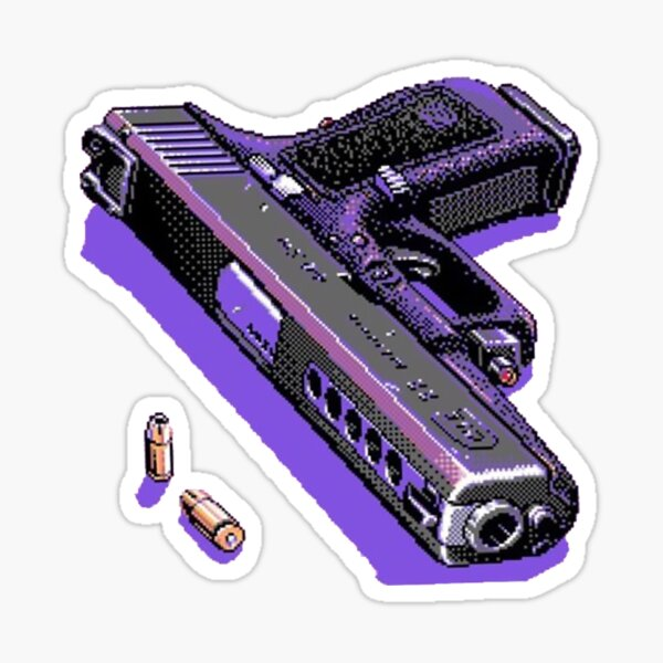 Vaporwave  Pixel loadout Sticker