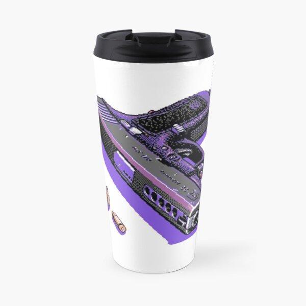 Vaporwave  Pixel loadout Travel Mug
