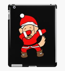 Dabbing Santa Christmas Labrador T Shirt iPad Case/Skin