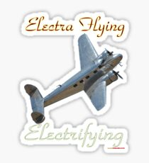 Electra Flying - Electrifying Design Sticker