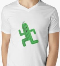 Cactuar Mens V-Neck T-Shirt