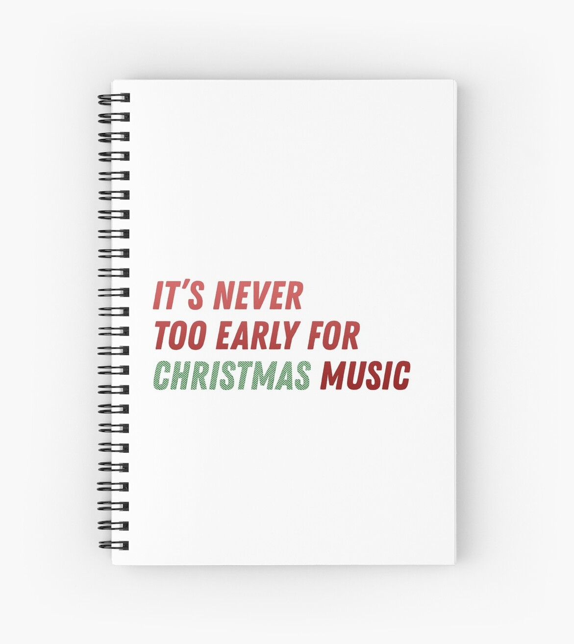 it\'s never too early for christmas music\
