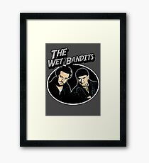 the wet bandits Framed Print
