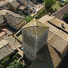San Gimignano from Torre Grosso, Tuscany. ITALY by hans p olsen