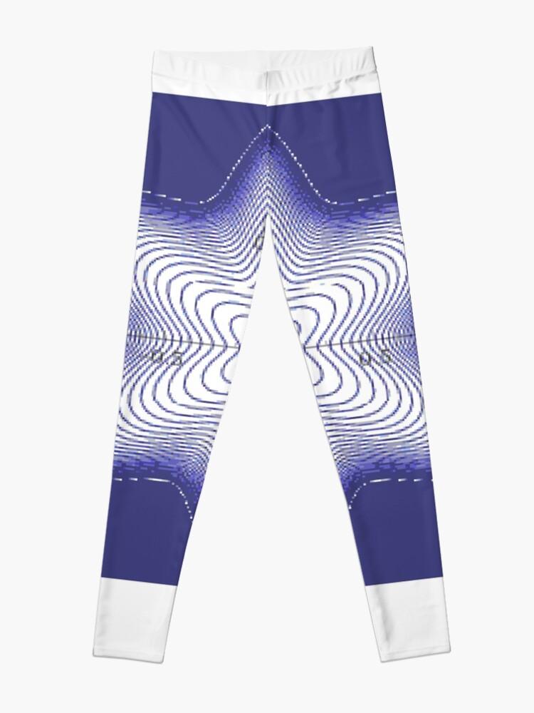 Alternate view of Spiral: Star of David Leggings