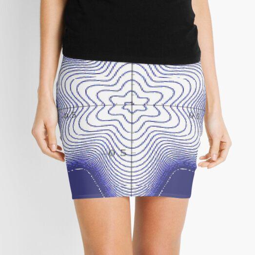 Spiral: Star of David Mini Skirt