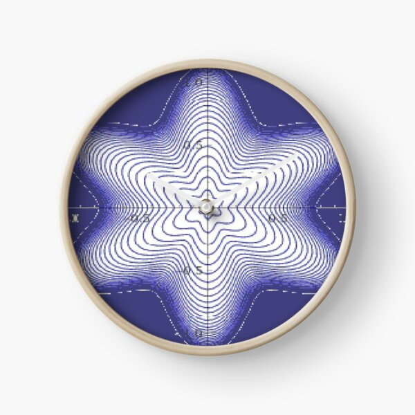 Spiral: Star of David Clock